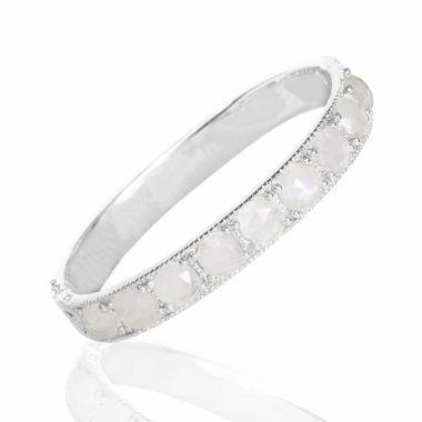 Nina Nguyen Designs Element Silver Bangle