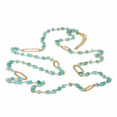 Nina Nguyen Designs Spectrum Vermeil Yellow Necklace