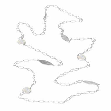 Nina Nguyen Designs Verge Silver Necklace