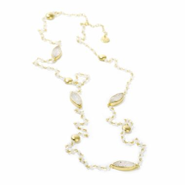Nina Nguyen Designs Seafoam Vermeil Yellow Necklace