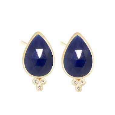 Nina Nguyen Designs Mia Small Gold Studs