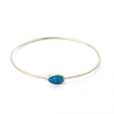 Nina Nguyen Designs Adorn 14k Gold Bangle