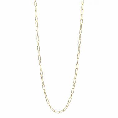 Nina Nguyen Designs Hand Hammerred  Gold Necklace