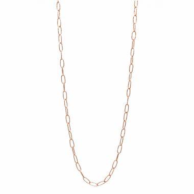 Nina Nguyen Designs Hand Hammerred  Vermeil Rose Necklace