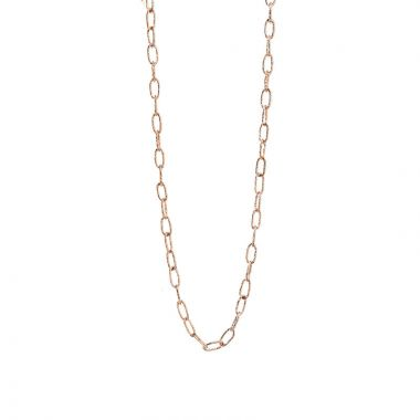 Nina Nguyen Designs Solstice Medium Vermeil Rose Necklace