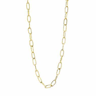 Nina Nguyen Designs Solstice Medium Vermeil Yellow Necklace