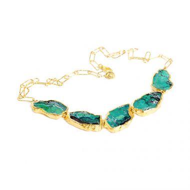 Nina Nguyen Designs Love in a Mist Vermeil Necklace