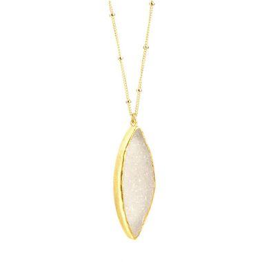 Nina Nguyen Designs Enlightened Vermeil Necklace