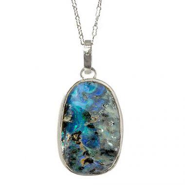 Nina Nguyen Designs Jasmine Druzy Silver Necklace